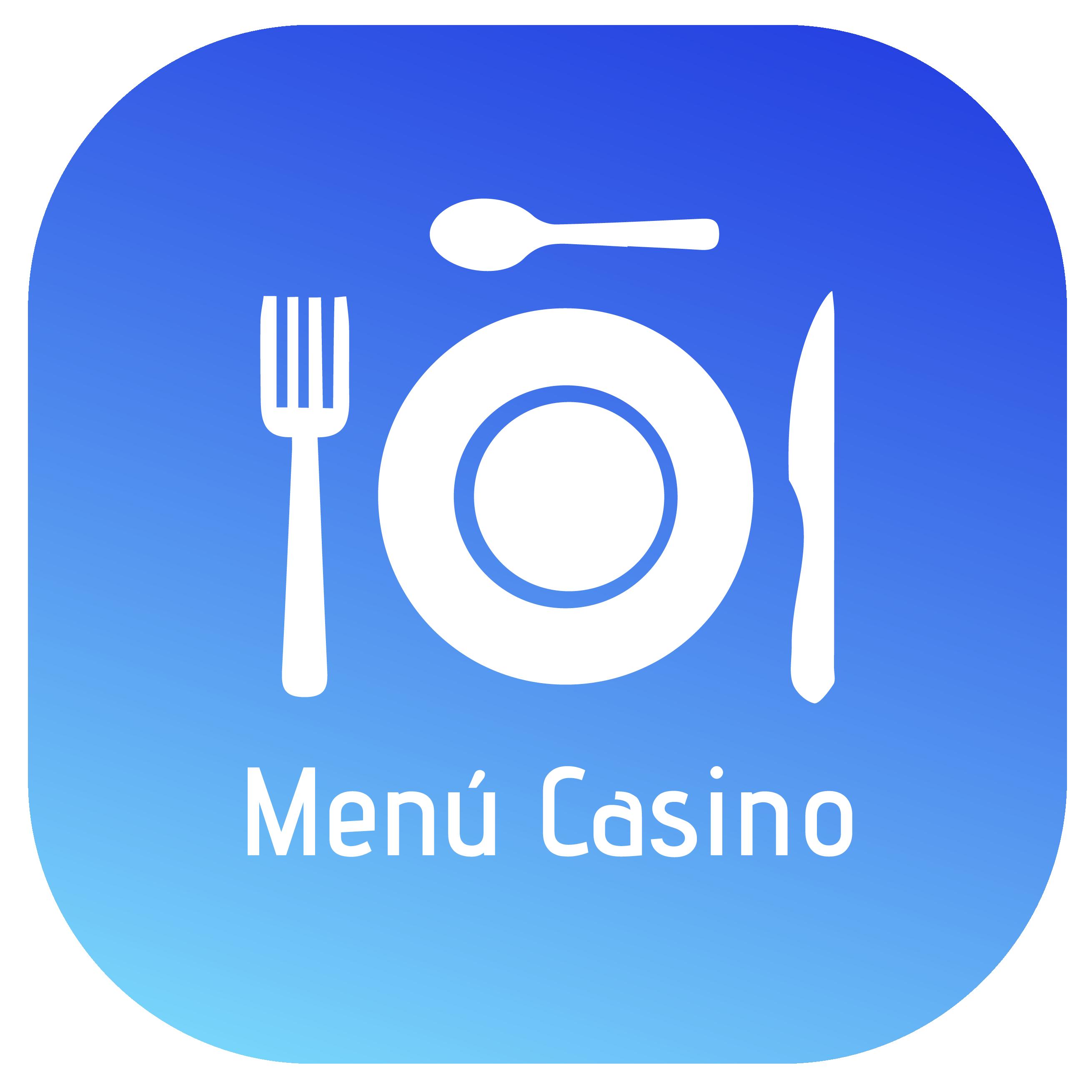Menú de Casino