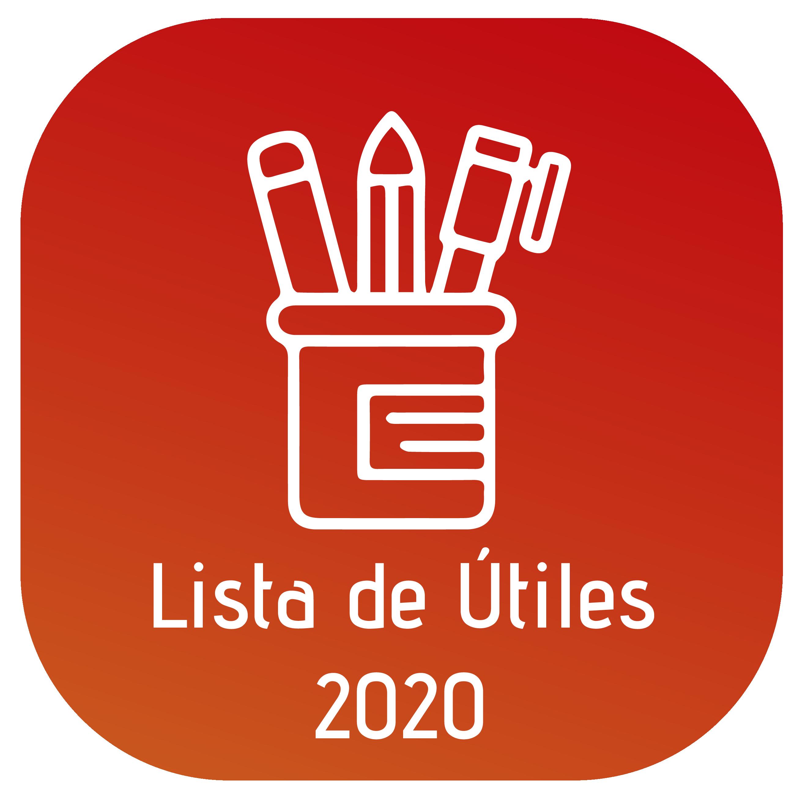 Lista de Útiles 2020